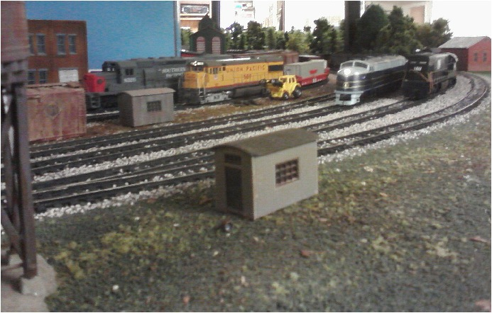Staging Yard entry on the HO layout