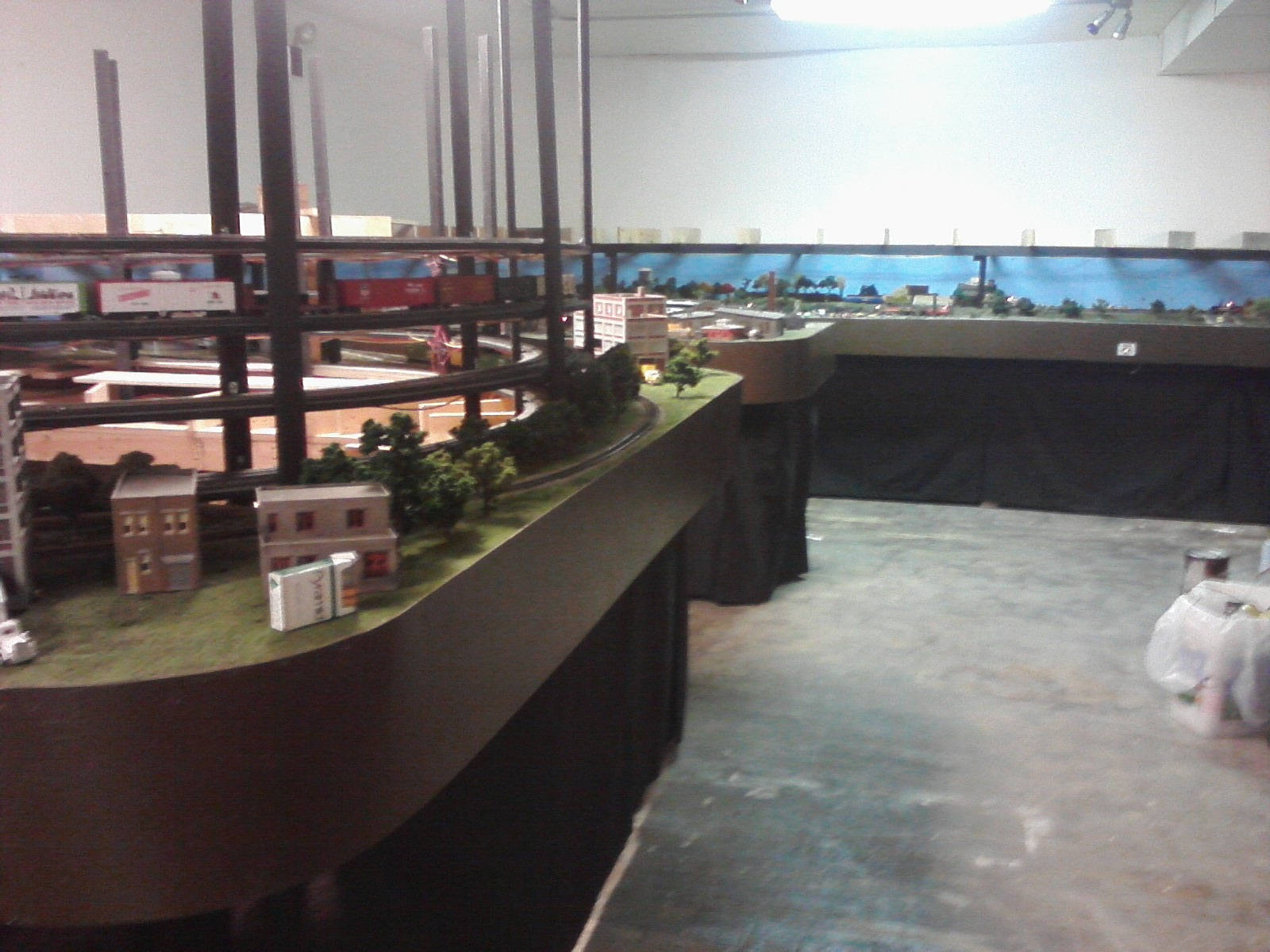 West half of HO layout